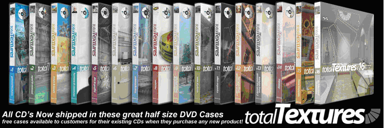 3D Total texture 1-19 DVD bundle