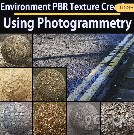 PBR真实环境贴图渲染教程(英文PDF) Gumroad – Guide for Environment PBR Texture Creation using Photogr ...