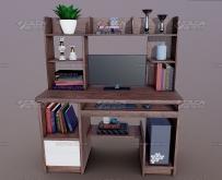 简约式现代城市风格卧室3D模型