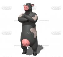 数字化科技感点线数据背景高清视频素材 Digital Big Data Network Background