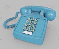 现代卧室模仿北欧空间3D模型