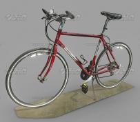 新中式模仿欧式风格大厅楼梯间吊顶3D模型
