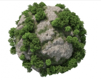 C4D插件 森林植物生成插件中文汉化版 - Forester for Cinema 4D R18