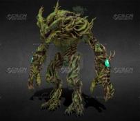C4D科幻城市模型预设包