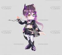3D模型 积木盒子玩具模型