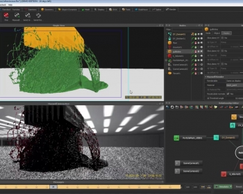 流体RealFlow 2015软件Maxwell 渲染教程  RealFlow 2015 Maxwell Render Integration Enhancem