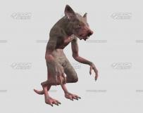卡通**动物模型下载Tiger模型下载maya模型